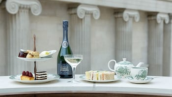 Afternoon Tea at the British Museum