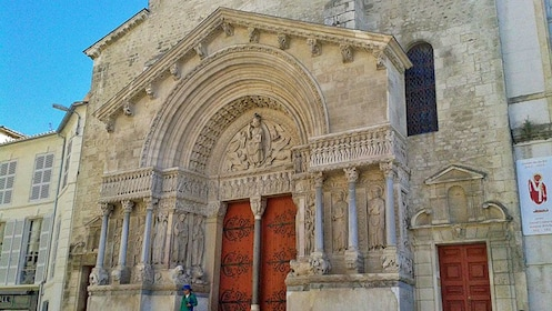 an old historic church in Provence