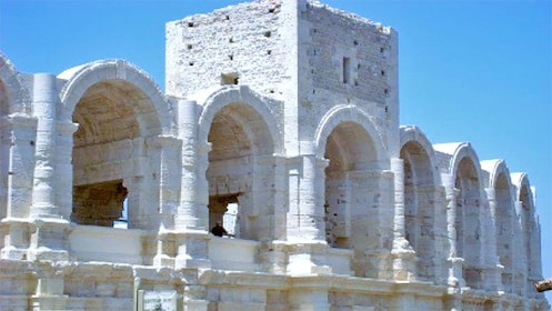 preserved historic ruins in Provence