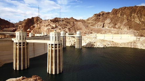 East side of the Hoover Dam