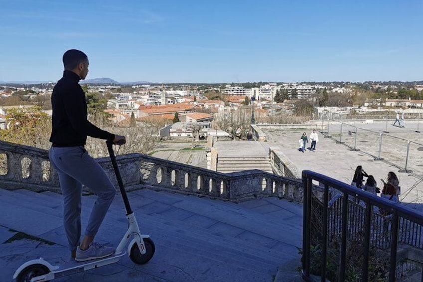 Show item 1 of 3. Electric scooter rental in Montpellier