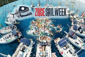 ZRCE SAIL WEEK: Party holiday on a sailboat on the Zrce beach in Croatia!