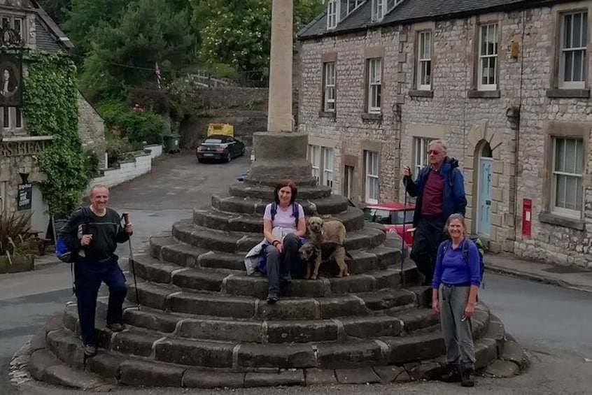 Show item 4 of 6. Wirksworth Walk with Trains, Quarries and Summer Flowers; history and nature