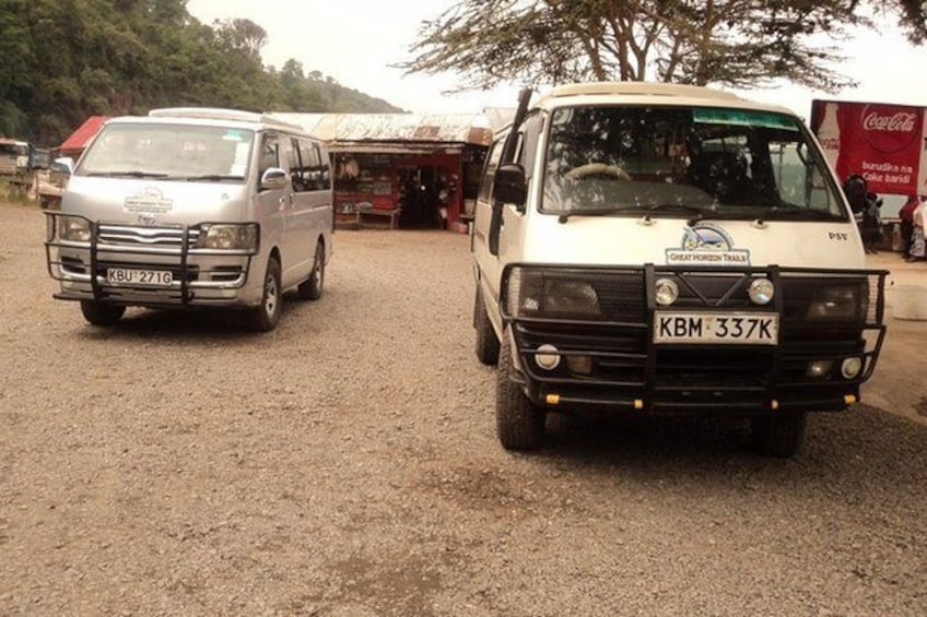 Show item 3 of 6. our fleets of customized safari vans
