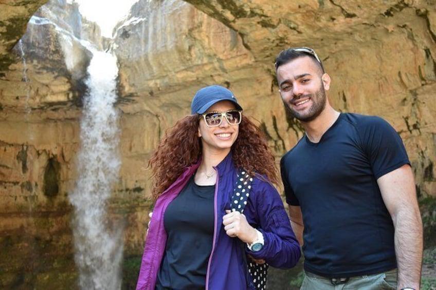 Show item 3 of 4. Hiking Baatara Gorge to Douma Village from Beirut