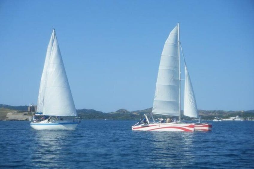 Show item 6 of 6. Private Catamaran Rental in Menorca