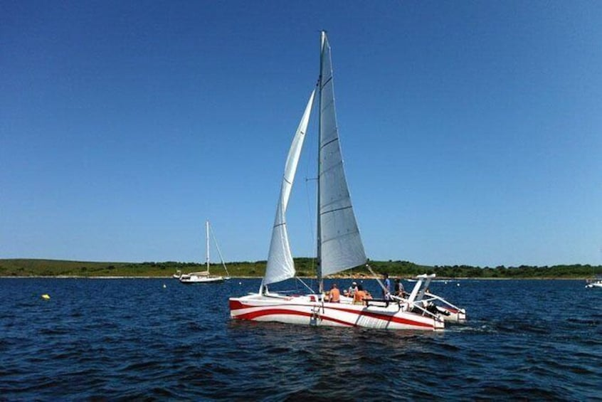 Show item 1 of 6. Private Catamaran Rental in Menorca