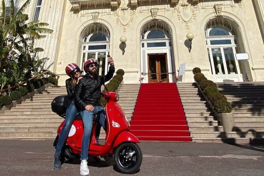 Show item 3 of 9. Half day Vespa rental in Sanremo