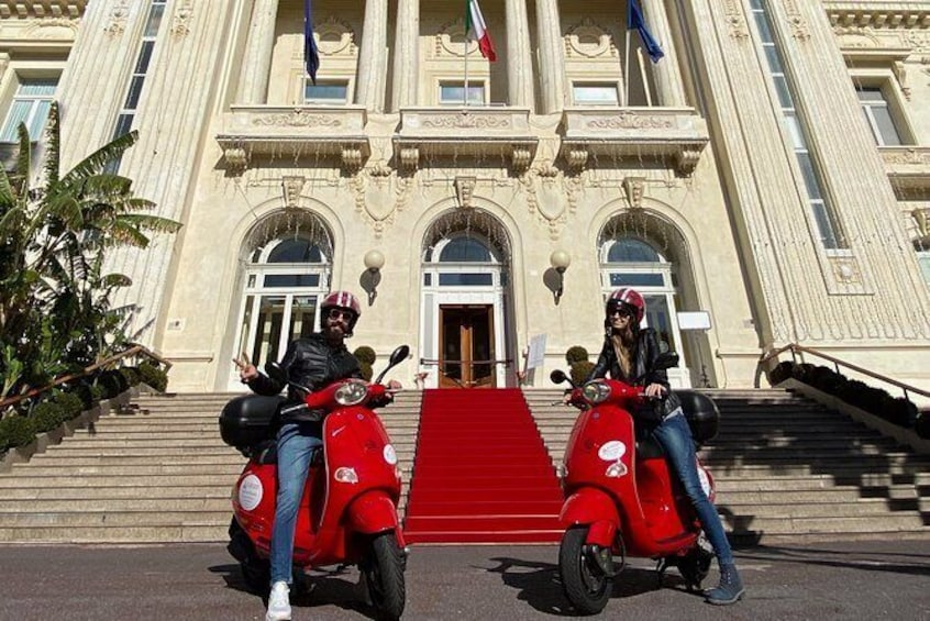 Show item 1 of 9. Half day Vespa rental in Sanremo