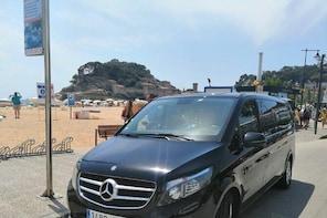 Private Transfer from Tossa de Mar in Costa Brava - To Barcelona City