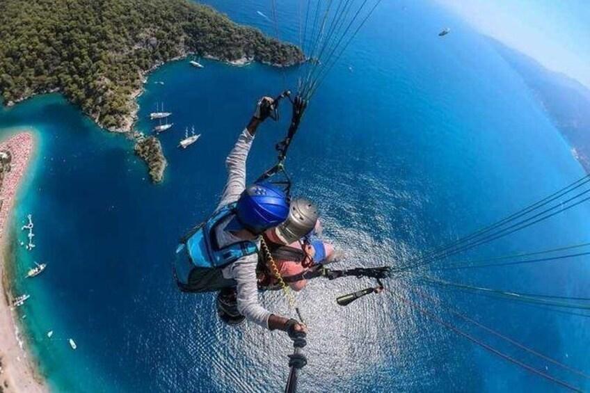 Show item 2 of 5. Paragling in Fethiye