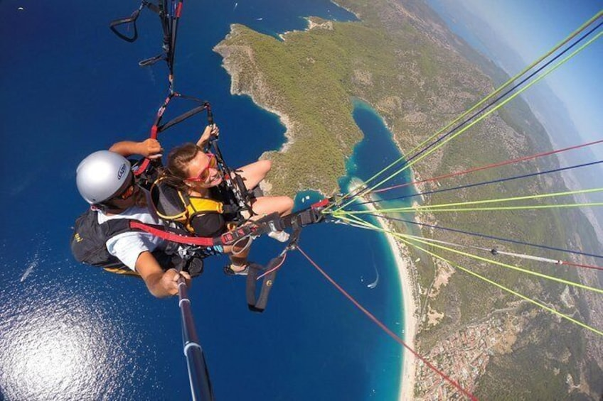 Show item 4 of 5. paragliding Fethiye