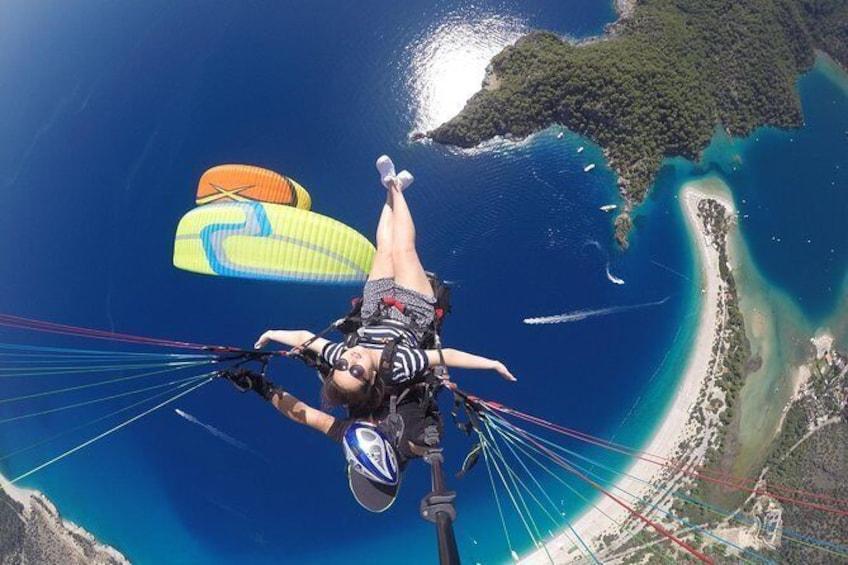 Show item 1 of 5. Paragling in Fethiye