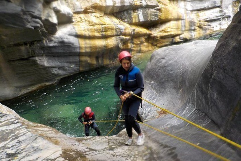 Show item 3 of 3. Ligurian Alps Outdoor Canyoning