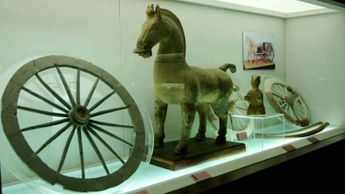 Exhibit of ancient items in china