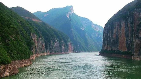 mountain and river view in china
