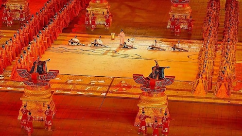 large theatrical show performed in Xi'an