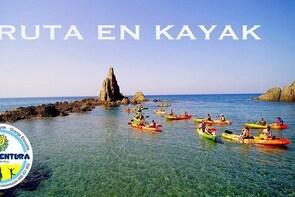 Kayak y snorkell por las mejores calas del Parque Natural Cabo de Gata