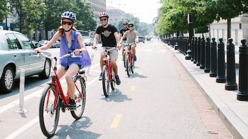 Bike tour in Washington D.C.