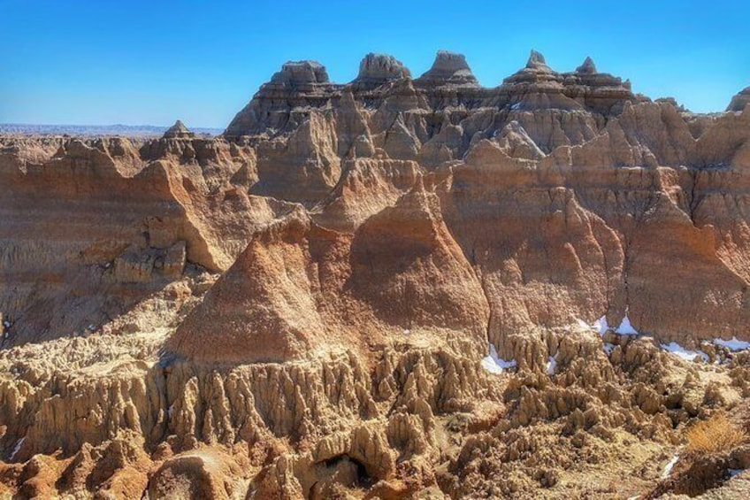 Show item 1 of 10. VIP Day Trip Jeep Safari to Badlands National Park