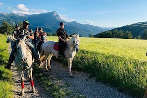 Private Horse Ride in Embrun
