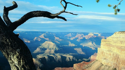 View from Mohave Point on the south rim of the Grand Canyon in Arizona