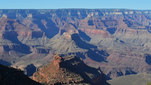 View of the Grand Canyon from the South Rim in Arizona
