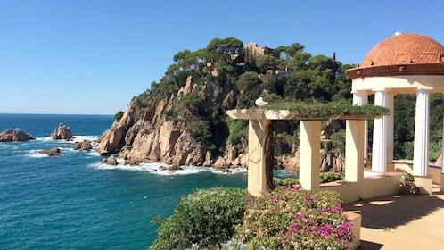 Costa Brava on a sunny day