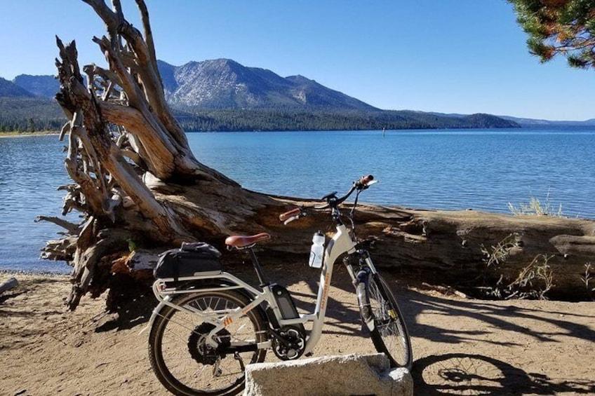 One of many Lake Tahoe scenic vistas