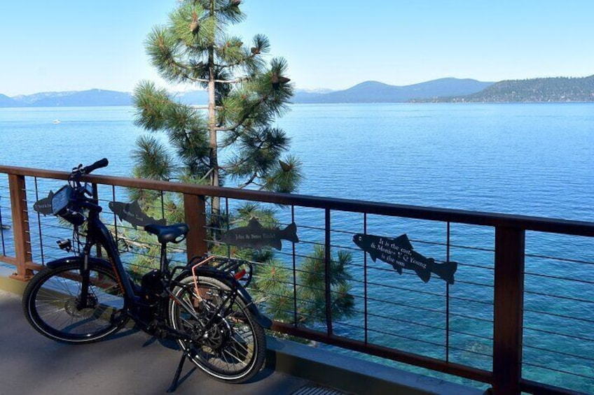 Half-Day Self-Guided Electric Bike Tour   Lake Tahoe's Iconic East Shore Trail