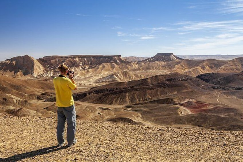 Show item 1 of 3. The best of Ramon Crater walking tour