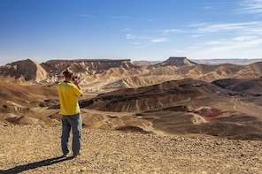 The best of Ramon Crater walking tour