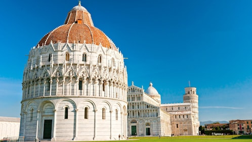 Day view of the Pisa Cathedral Square in Italy