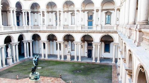 Brera Art Gallery in Regional Italy Tuscany