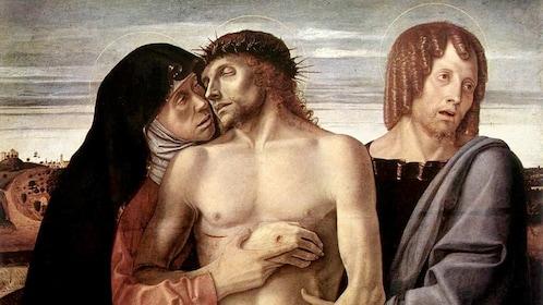 Pieta by Giovanni Bellini in Italy