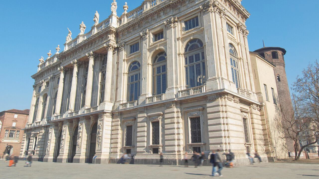Street view of the Palazzo Madama Museum