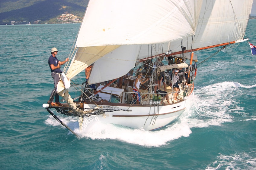 Show item 3 of 6. Whitehaven Day Sail & Snorkelling in the Whitsundays