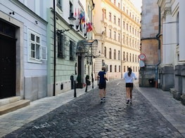 Bratislava Running Tour of Historical Centre with a local