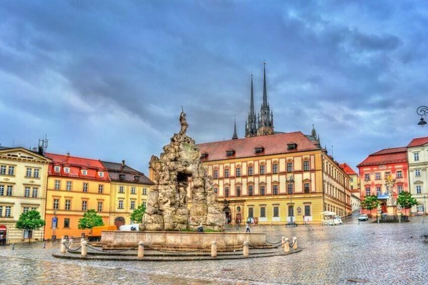 Romantic tour in Brno