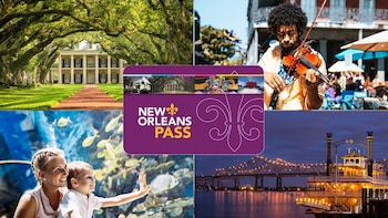 New Orleans Pass: Mer enn 25 attraksjoner med én billett
