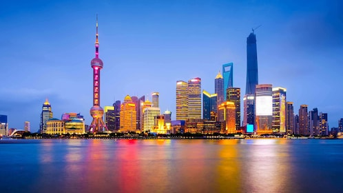 city view from Huangpu River