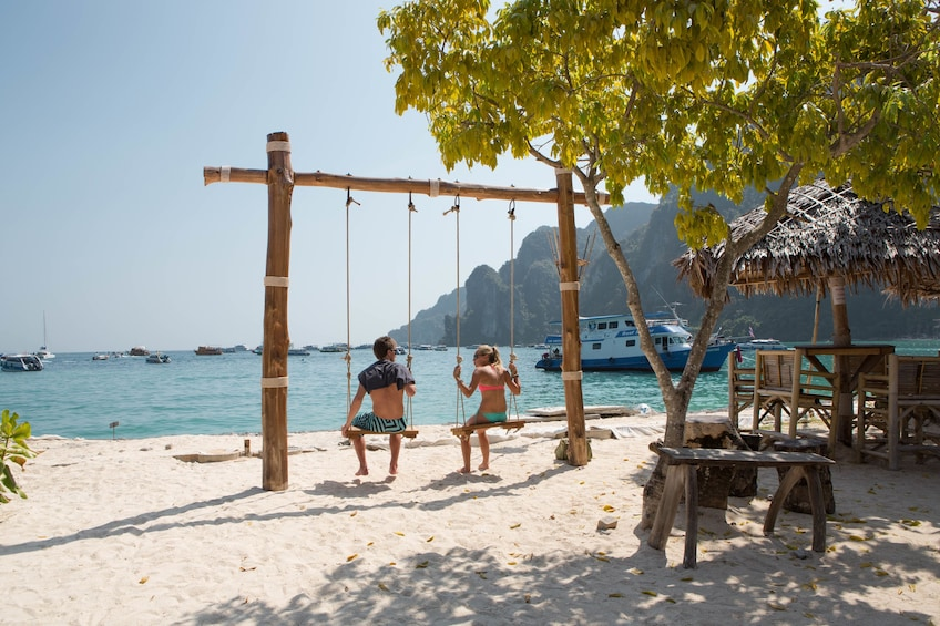 Show item 4 of 10. Phi Phi & Khai Nai Islands Deluxe Full-Day Tour by Speedboat