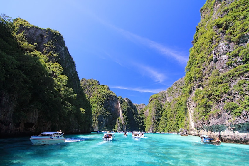 Show item 10 of 10. Phi Phi & Khai Nai Islands Deluxe Full-Day Tour by Speedboat