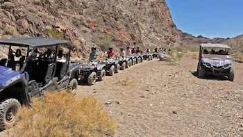 Scenic ATV Tour Through Lake Mead National Park to Colorado River
