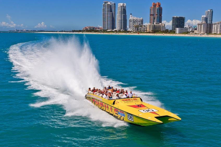 Show item 1 of 9. Thriller Speedboat Ride
