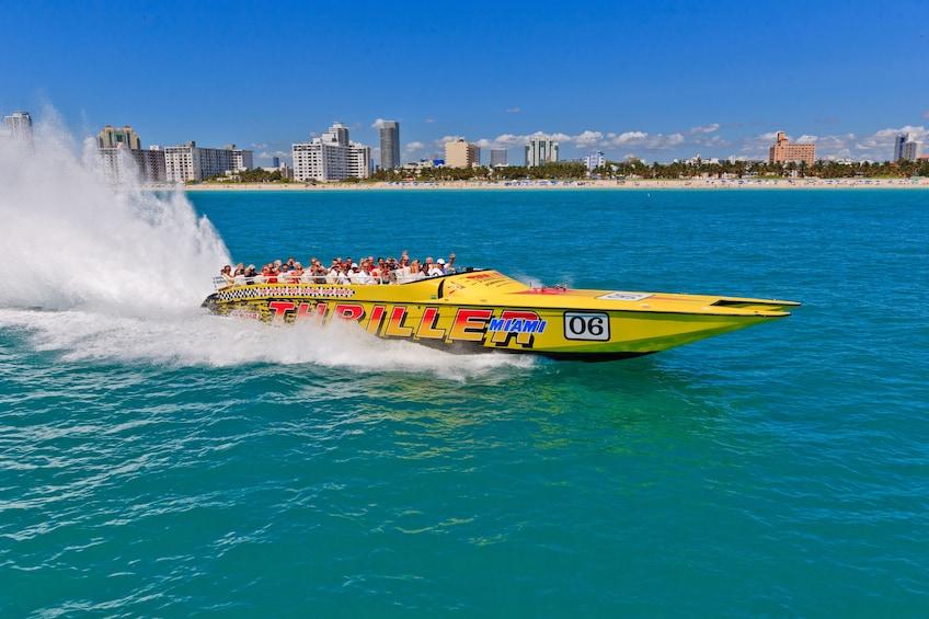 Show item 3 of 9. Thriller Speedboat Ride