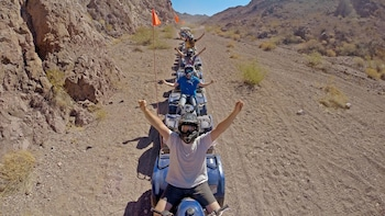 Motorized Scenic ATV Tour & Grand Canyon Helicopter Ride