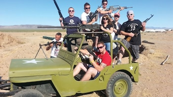 ATV Tour, Grand Canyon Helicopter Flight & Outdoor Shooting Adventure
