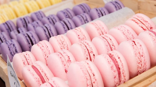 Macarons on the Granby Street Food Tour
