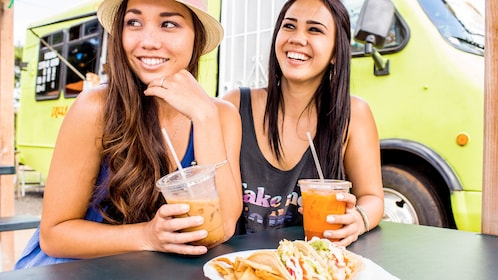 Two ladies on the Granby Street Food Tour
